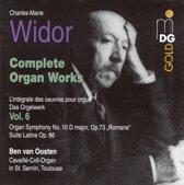 Widor: Complete Organ Works Vol 6 / Ben van Oosten