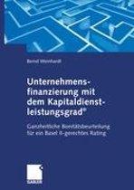 Unternehmensfinanzierung mit dem Kapital-dienstleistungsgrad(R)