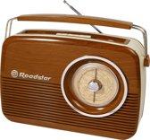 Roadstar TRA-1957WD Draagbaar Analoog Bruin radio