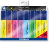 STAEDTLER Textsurfer classic tekstmarker - set 6 + 2