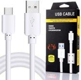 Olesit K107 TYPE C USB Kabel 1.5 Meter Fast Charge Lader 2.1A Laadsnoer Oplaadkabel - Data Sync & Transfer USB C Kabel - Geschikt voor LG V30 ,Nexus 5X, LG G5 SE, LG G5, LG G6/LG G7 ThinQ - Wit
