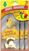 Arbre Magique luchtverfrisser Cocco Tris