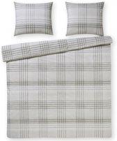 Day Dream Mick grijs - flanel - dekbedovertrek - lits-jumeaux - 240 x 200/220 - Multi