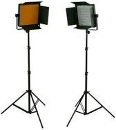 Bresser LED Foto-Video set 2 x LS-600 38W/5.600LUX