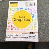 Rey papier Text&Graphics 100gram 500 vel A4