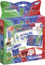 PJ Masks Colori - maak je eigen blaaspenschilderijtjes - Totum Knutselset