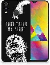 Samsung Galaxy M20 Uniek TPU Hoesje Zombie