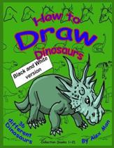 How to Draw Dinosaurs - Collection (book 1+2)