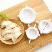 Set van 3 Gyoza / Dumpling mal - Maak eenvoudig zelf dumplings maken