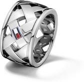 Tommy Hilfiger TJ2701023 Ring - Zilverkleurig - maat 56