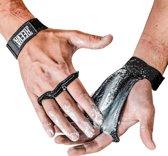 Reeva kangaroo grips crossfit handschoenen - Geschikt voor Fitness en CrossFit - Leer -  Medium