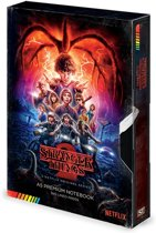 Hole In The Wall Stranger Things: Season 2 VHS Premium A5 Notebook