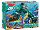 Melissa and Doug - Onderwater Vloer Puzzel