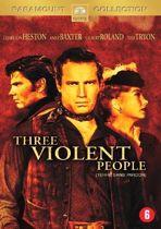 Three Violent People (D/F) (dvd)