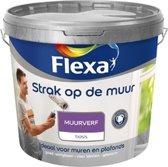 Flexa Strak op de muur Muurverf - Mat - 2,5 liter - Nachtblauw