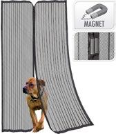 Magnetische insecten deur hor/gordijn zwart - Deur