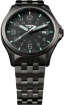 Traser P67 Officer Pro GunMetal Black - horloge - Ø 42 mm - zwart / gunmetal