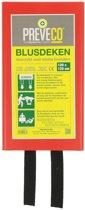 Blusdeken 120 x 120 cm Preveco met hardbox - Voldoet aan de norm EN-1869:1997