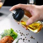 Keukenmeisjes Spray® - Olijfoliepomp - Olijfolie sprayer - Olieverstuiver - Oliespuit - BBQ, Gourmet & Keukenaccessoires - 150 ML - Glas