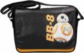 Star wars 7 - messenger bag w/flap - bb-8