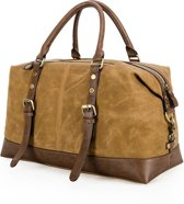 Cowgirl duffle wax-canvas bag '' retro tas''- schoudertas- damestas- canvas tas- trendy tas- KERST SALE