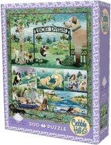 Cobble Hill Legpuzzel Hondenpark 500 stukjes