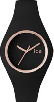 Ice-Watch Glam Black/Rosegold horloge - 41mm