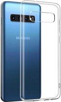 Samsung Galaxy S10+ hoesje - CaseBoutique - Transparant - TPU