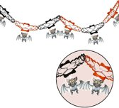 Halloween Slinger Vleermuis met onderhangers 2 meter