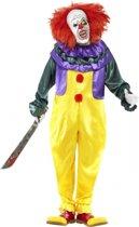 Horror clown kostuum met masker 48-50 (m)