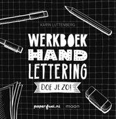 Handlettering doe je zo! + Handlettering Doe Je Zo!/Oefen/Werkboek 3 Handlettering Gel Pennen verpakt in een handige Zipperbag