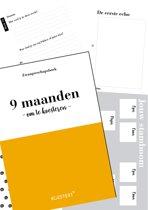 Invulboek   zwangerschapsdagboek   zwangerschap   9 maandenboek   Koestert