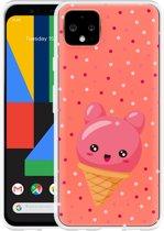 Google Pixel 4 XL Hoesje Ice cone