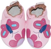 BabySteps slofjes Pink butterfly extra small