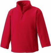 Rode fleece trui voor jongens 104 (3-4 jaar)