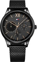Tommy Hilfiger TH1791420 horloge heren - zwart - edelstaal PVD zwart