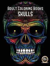 Adult Coloring Books (Skulls)