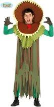 Natuur Groente & Fruit Kostuum | Hongerige Vleesetende Plant | Man | Maat 52-54 | Halloween | Verkleedkleding