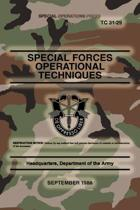 Tc 31-29 Special Forces Operational Techniques