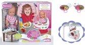 Nenuco Poppenstoel met Geluid - Inclusief Babypop