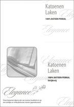 Elegance Laken Katoen Perkal - wit 150x250