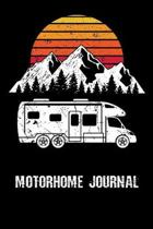 Motorhome Journal: Trip Planner, Memory Book, and Expense Tracker