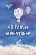 Olivia's Adventures: Softcover Personalized Keepsake Journal, Custom Diary, Writing Notebook with Lined Pages