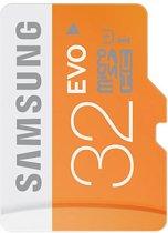 Samsung Evo 32 GB Micro SD geheugenkaart class 10