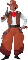Witbaard - Kostuum - Cowboy - 5dlg. - One Size