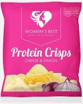 Womens Best Protein Crisps - Sport snack - 25 gram