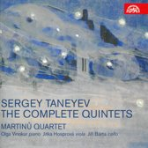 Sergey Taneyev - The Complete Quintets