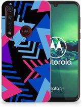 TPU Hoesje Motorola Moto G8 Plus Funky Triangle
