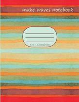 Make Waves Notebook
