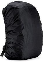 BlezLiving - luxe universele regenhoes voor rugzak - tas bescherming 35 liter - waterdicht - zwart